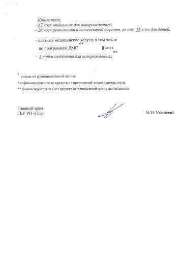 Структура Перинатальный центр Ростовской обл.
